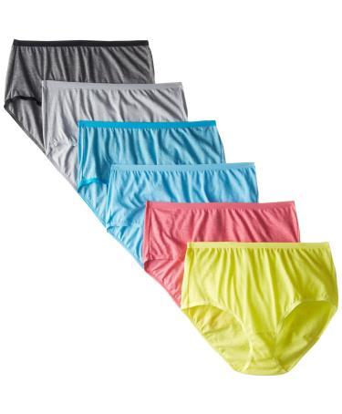Fruit of the Loom Beyond Soft Women`s 6-Pack Brief Panties