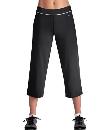 Champion Double Dry 22'' Cotton-Rich SEMI-FITTED Women's Fitness Capris