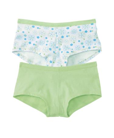 Hanes Classics Girls' Boy Short Panties with ComfortSoft Waistband 3 Pack