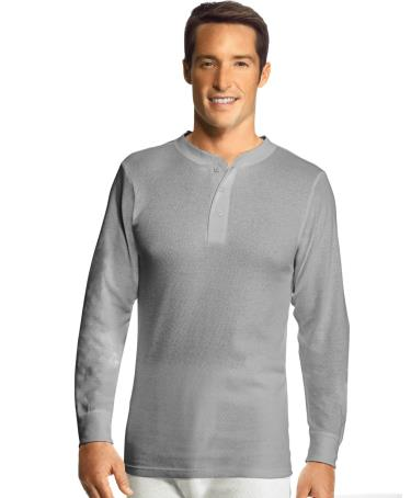 Men's X-Temp Thermal Henley