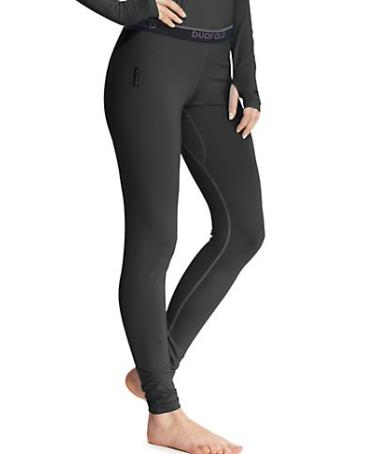 Duofold by Champion Women's Base Layer Bottom with Champion Vapor Technology