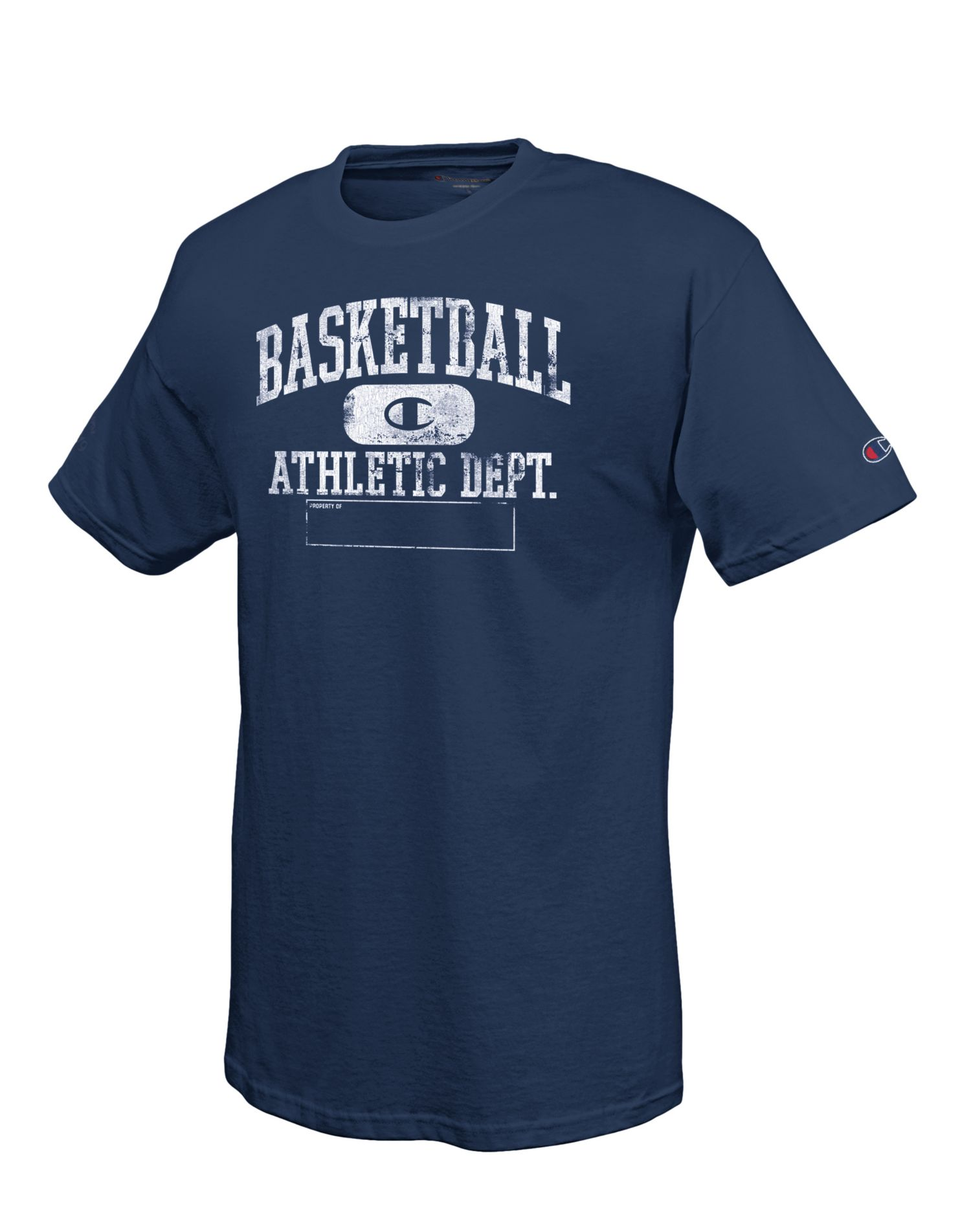 Champion cgt111 100 cotton men 39 s t shirt with for Men s basketball t shirts