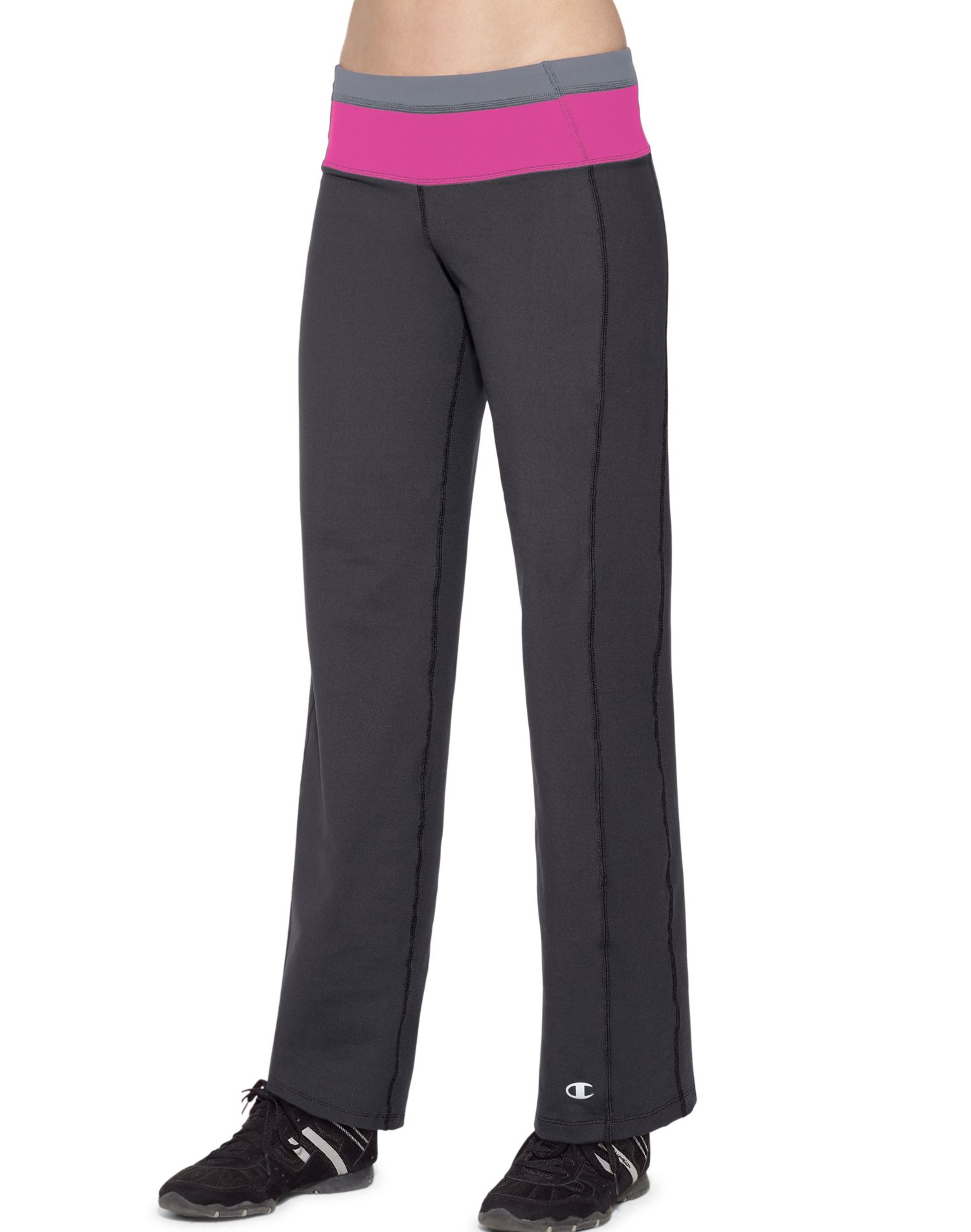 Unique Semifitted Pants Provide All The Right Fit In All The Right Places PowerFlex Technology Stretches To Move With You PowerTrain Core Performance Double Dry Moisture Control Helps Keep You Cooler And Drier UV Protection Tagfree
