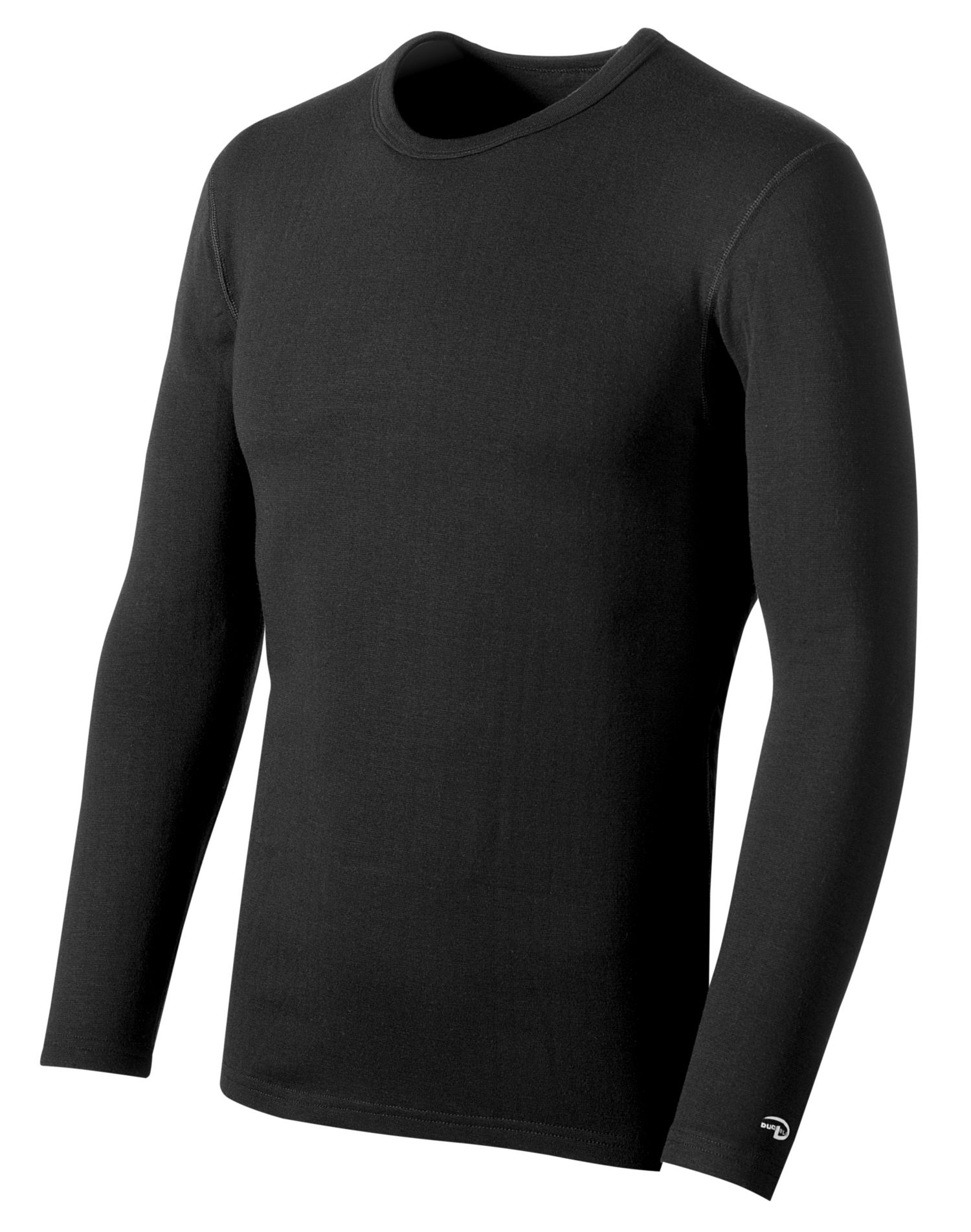 Duofold by champion varitherm performance 2 layer men 39 s for Mens black thermal t shirts