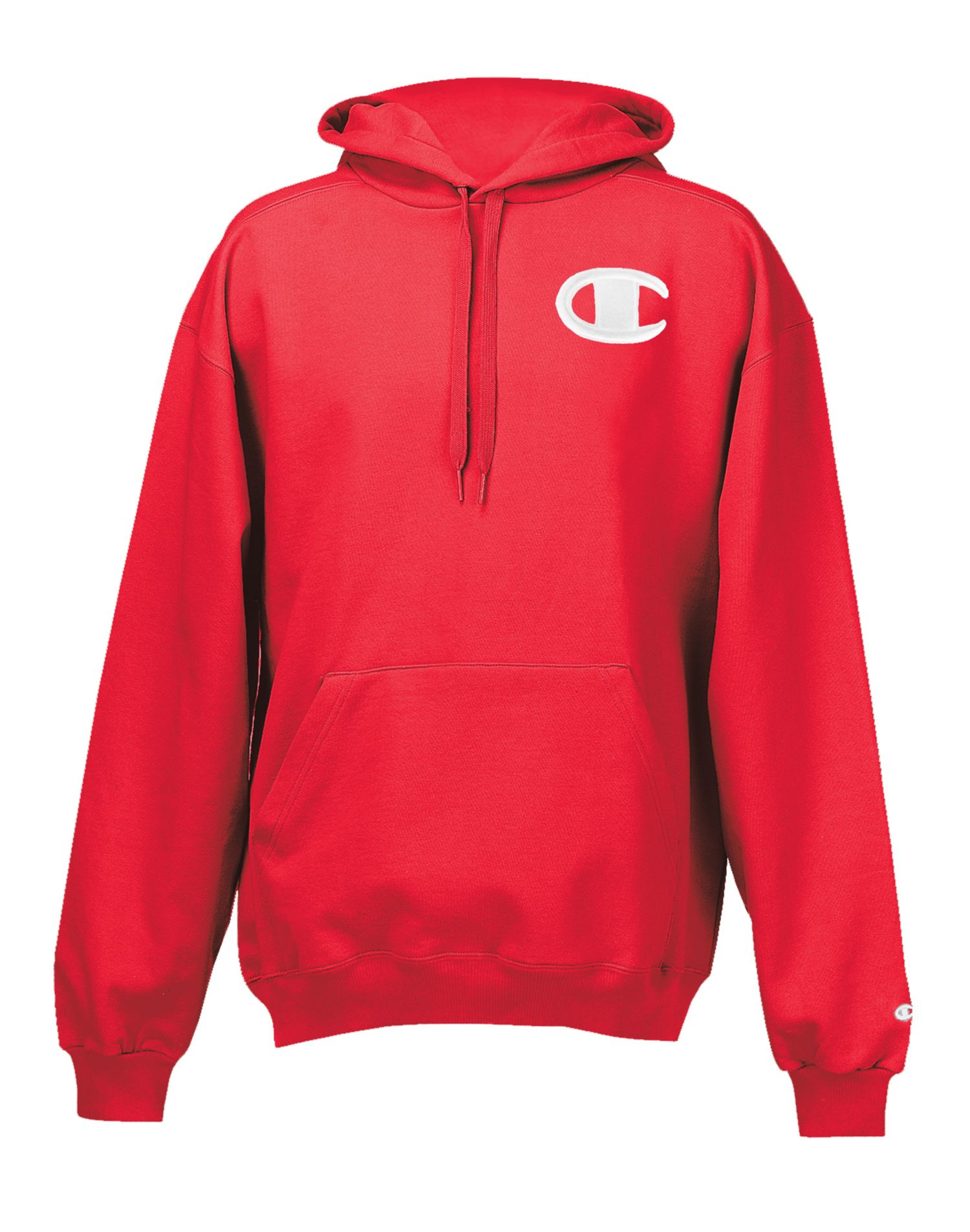 Champion Super Hood® Fleece Men`s Hoodie with Big Raised ...