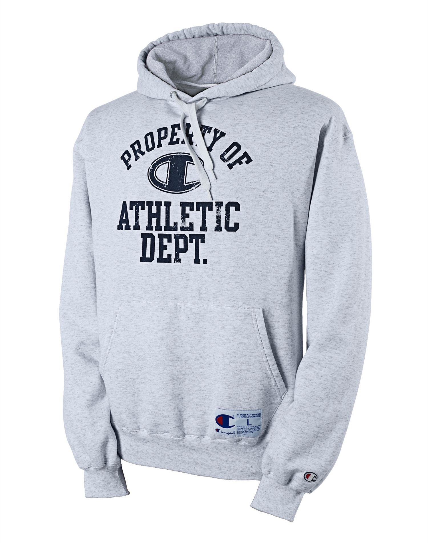 Retro Rugby Men's Hoodie with 'Property Of' Graphic