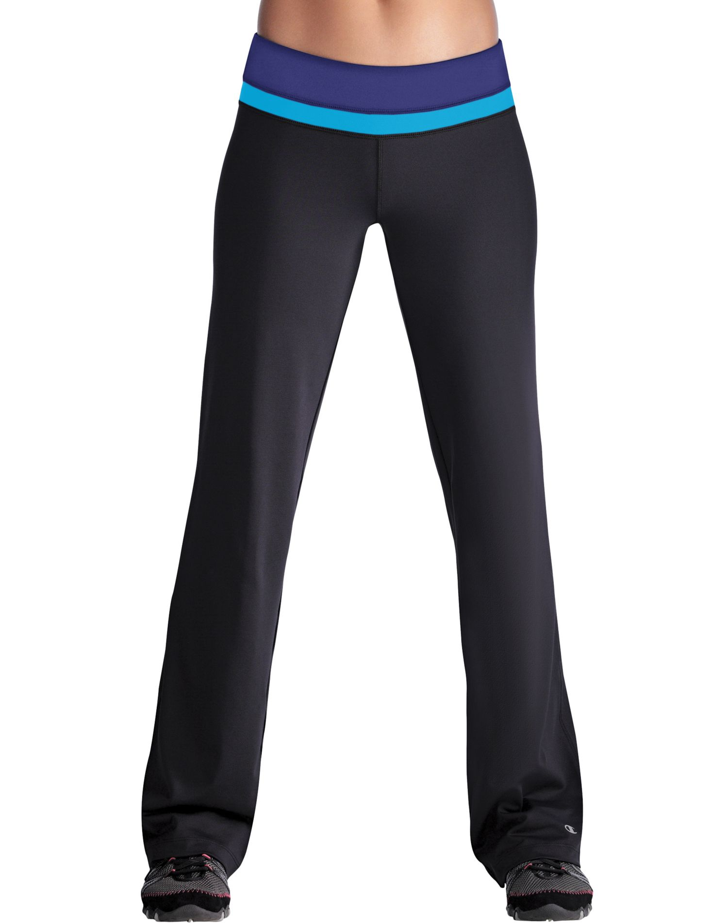 Model Womens Workout Pants Flared Yoga Pants Fitness Apparel