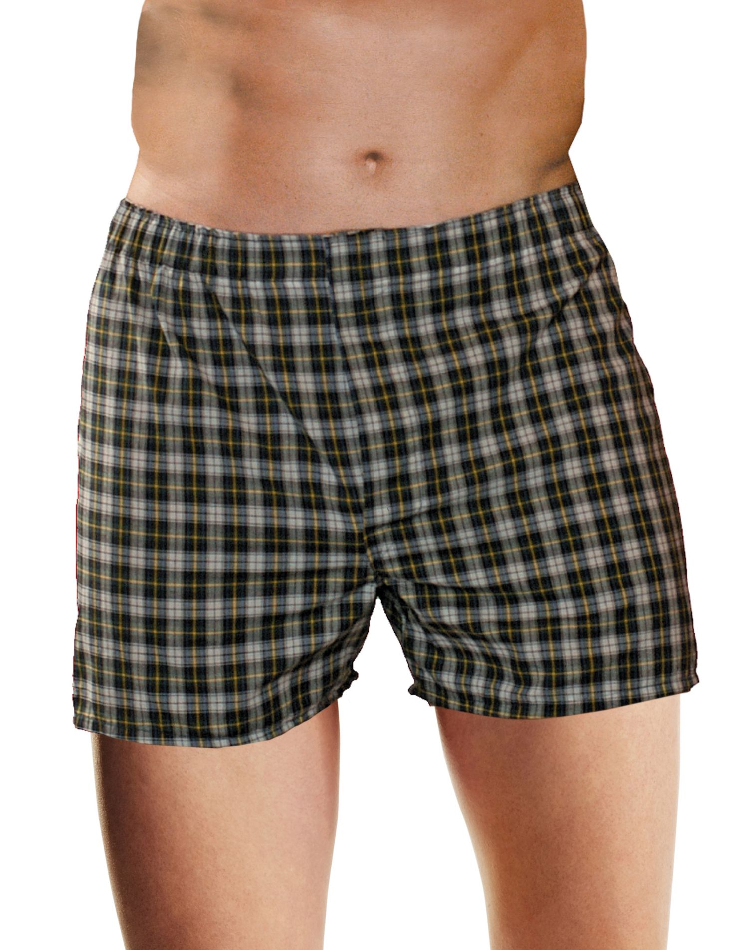 Hanes Mens Tagless Boxer Briefs With Comfort Flex ...