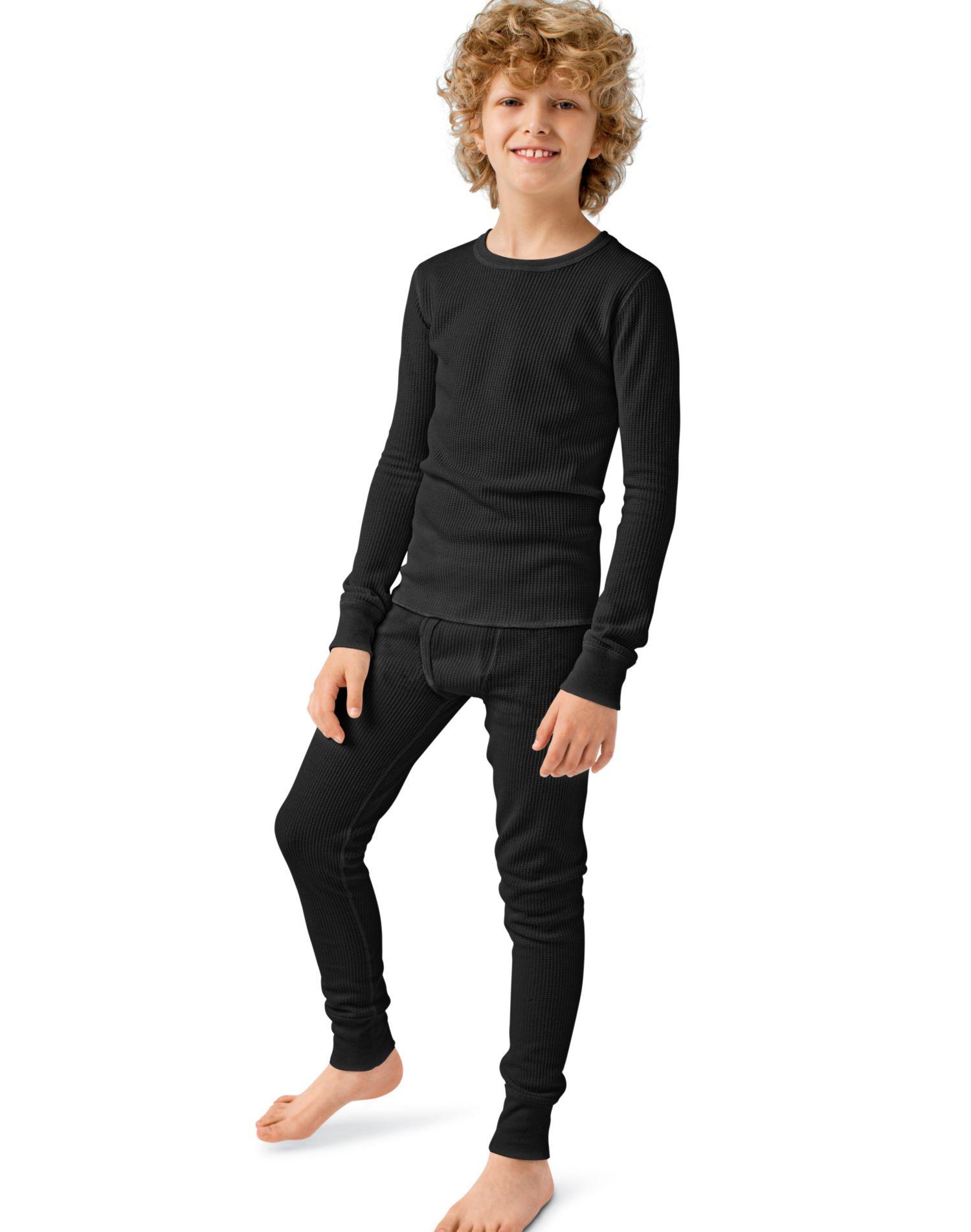 Hanes 24101 - Boys' Thermal Underwear Set