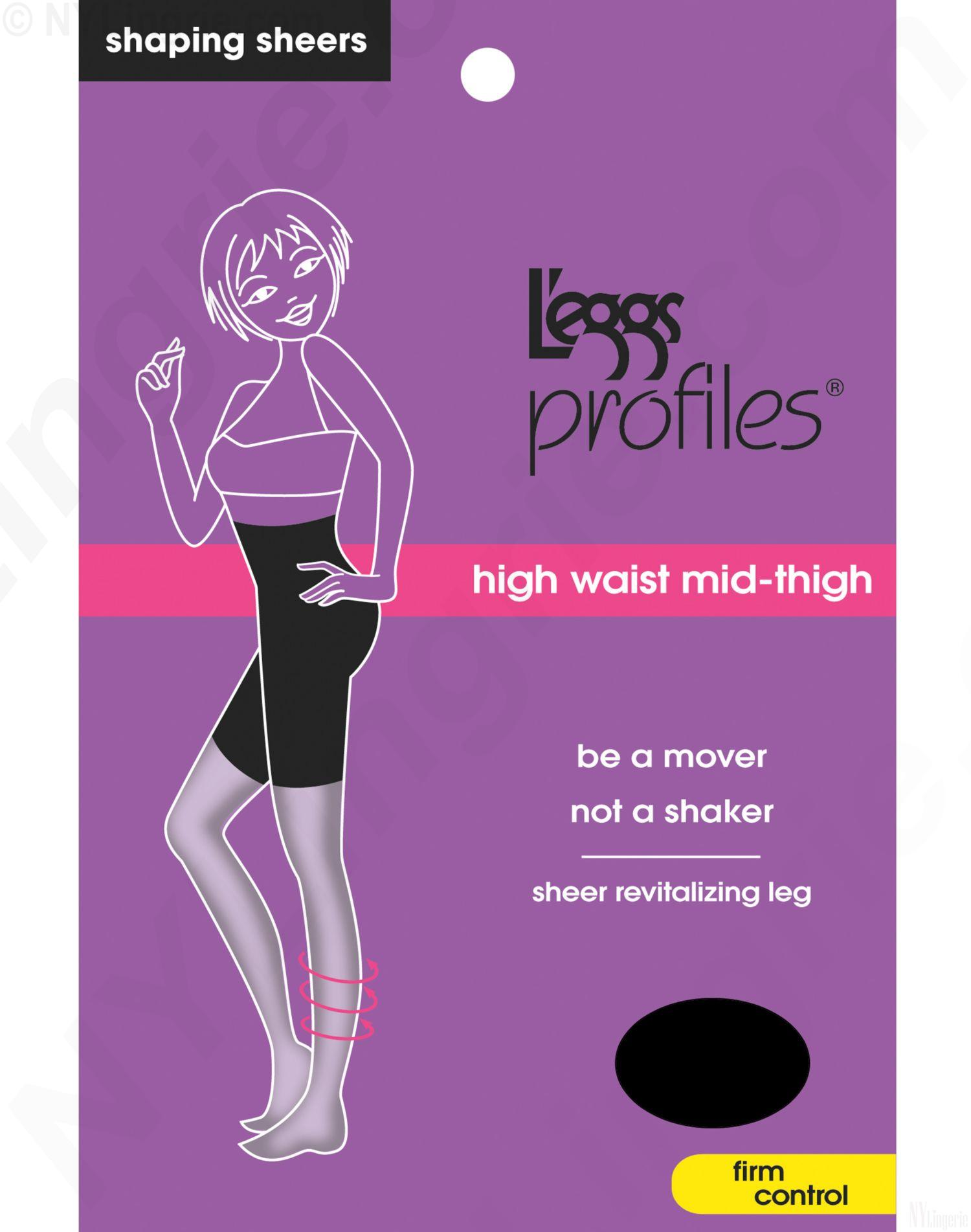 L'eggs Shapewear 10416 - L'eggs Profiles Firm Control Waist ...