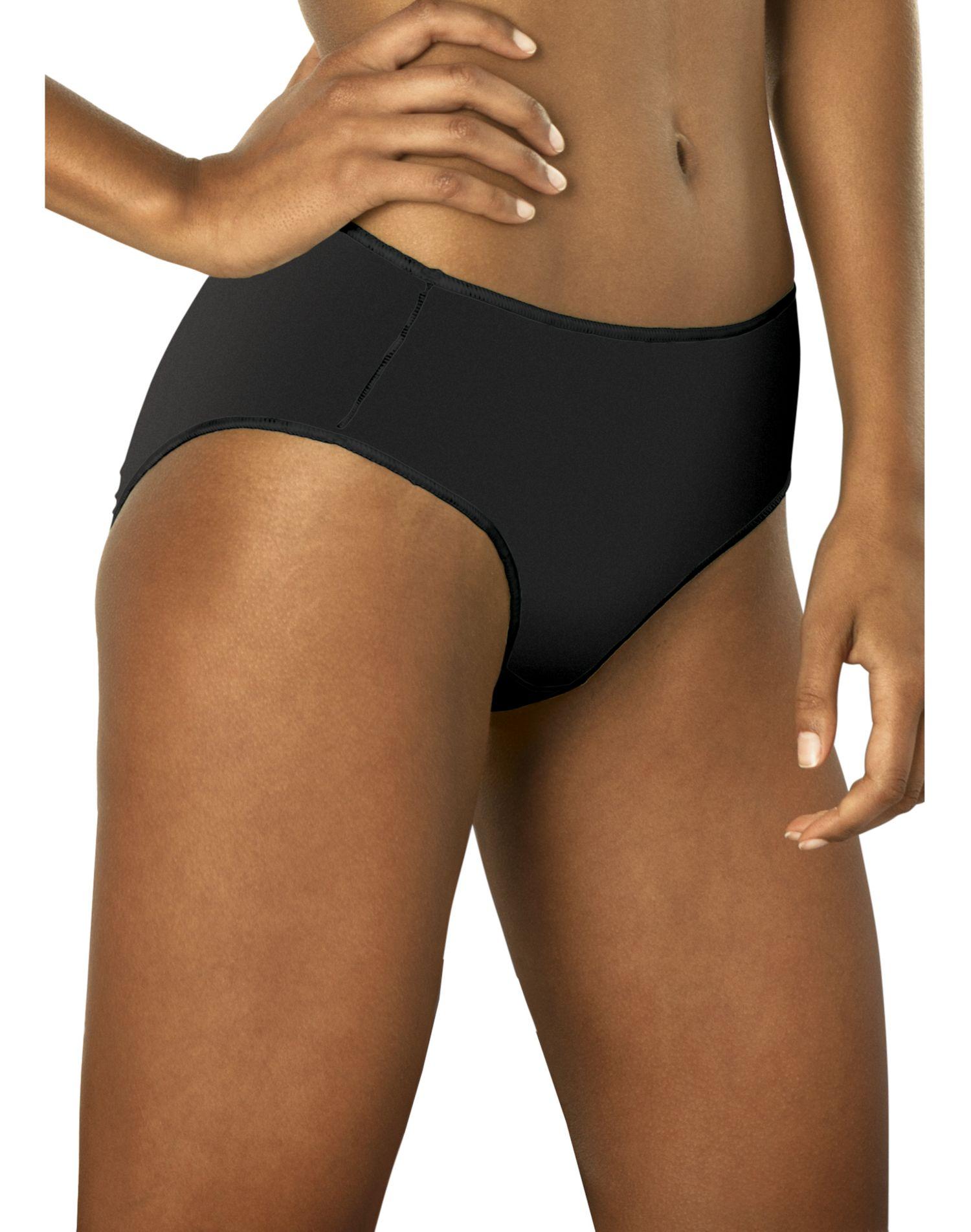 Hanes womens body creations microfiber bikini