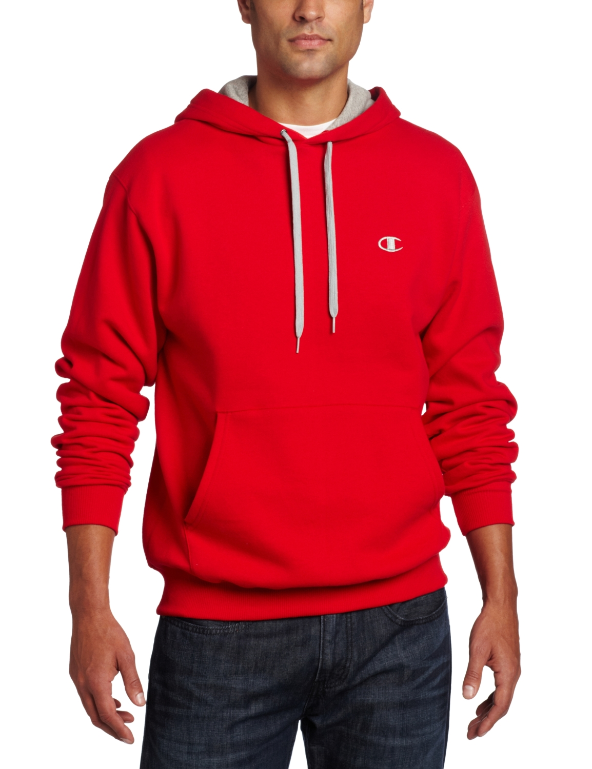 S2467 champion eco fleece pullover men 39 s hoodie for Pull over shirts for mens